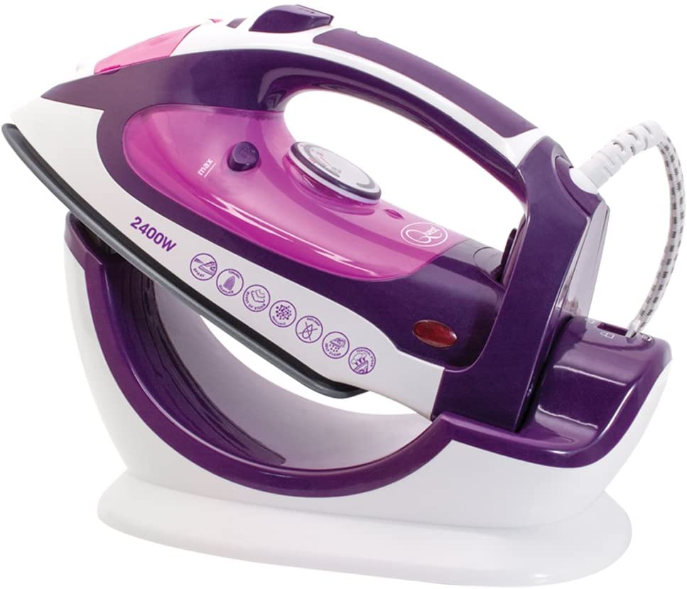 Quest 35070 Steam Ceramic Soleplate Iron 2400 W – Most Durable