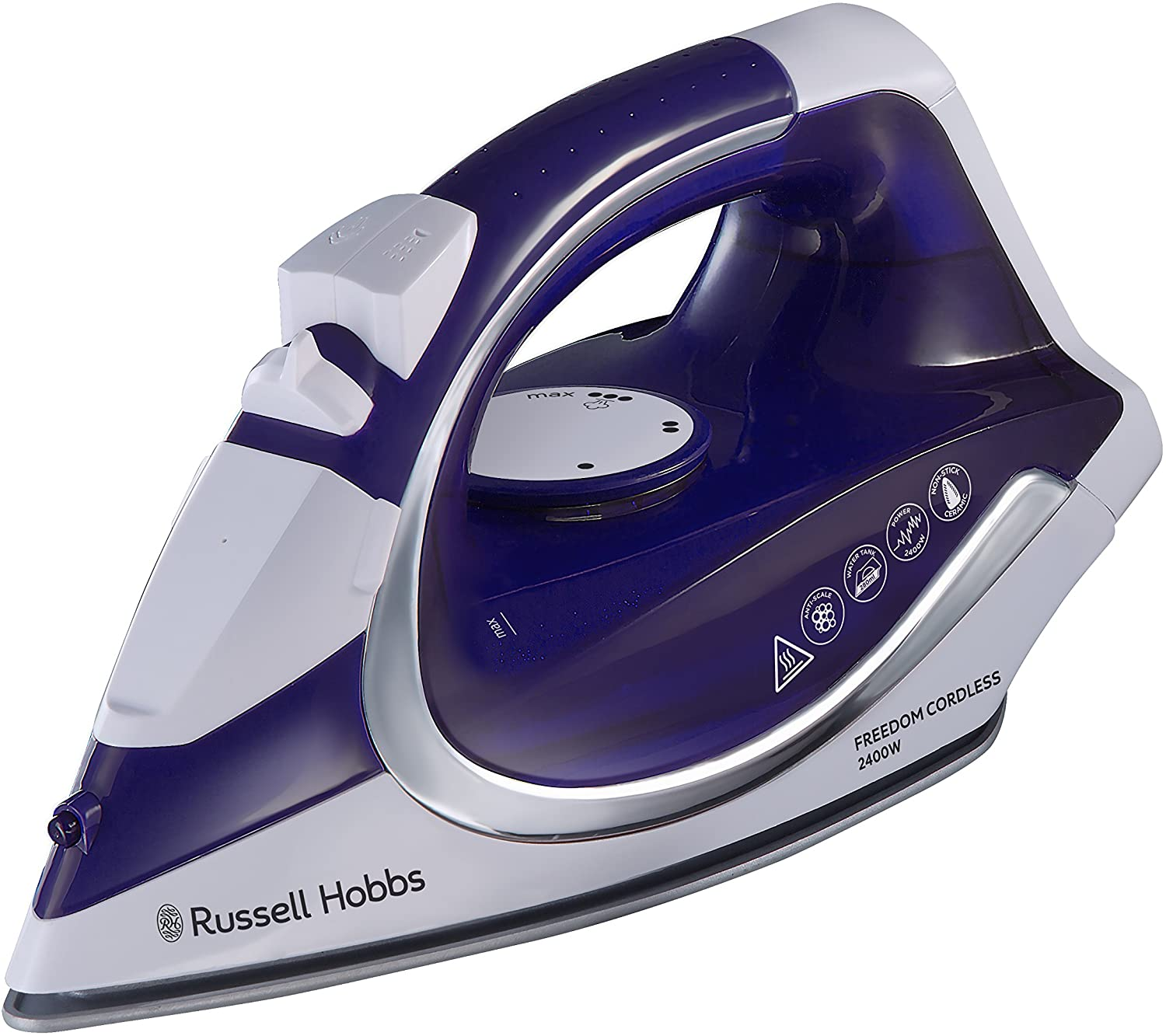 Russel Hobbs 23300 Freedom Cordless Iron – Large Water Tank